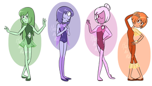 Pearl Adopts (4/4 OPEN) by GirlAnimePrincess