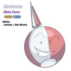 Electrode - Alola Form by locomotive111
