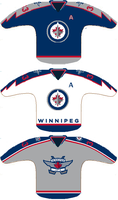 Winnipeg Jets concepts 2 by RuskiePolack