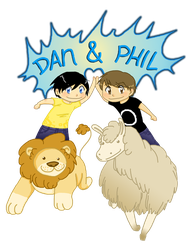 Dan and Phil by GothicShoujo
