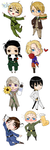 APH chibis Complete by OMGProductions