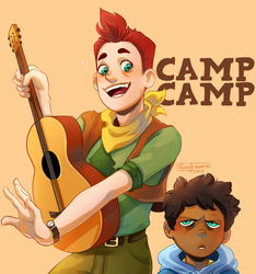 Camp Camp by SixofClovers