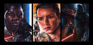 Star Wars The Force Awakens PSCs by Twynsunz