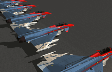 Eurofighter Typhoon - Rot Sqn by GTAuron
