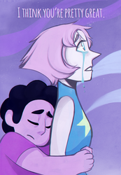 Steven Universe- I think youre pretty great by uzuluna