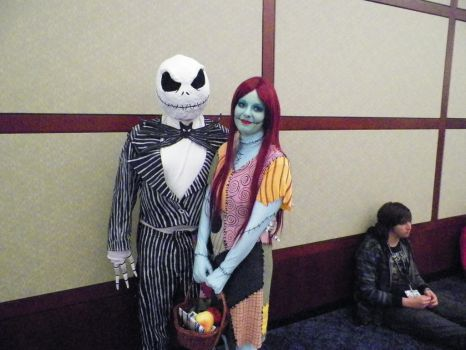 JACK AND SALLY from  NIGHTMARE BEFORE CHRISTMAS by nos22