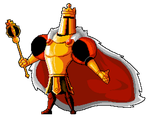 King Knight by TheRetroArtist