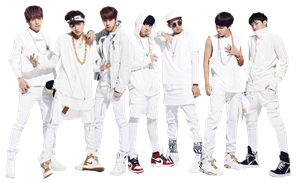 Png render : BTS  (Bangtan Boys) #02 by VipArmy