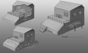House design practice by Coolb3rt