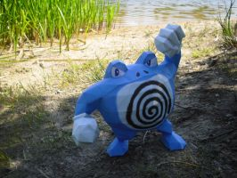 Poliwrath papercraft