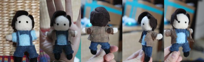 Tiny Eleventh Doctor Plushie by snappop