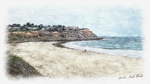Digital Art from Photo - Noarlunga Beach by Hoover1979