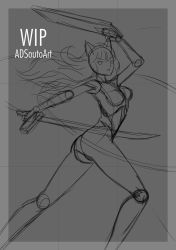 WIP - Summer Time Blake by ADSouto