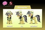 Daring Do Puppet Rigs v1.0 by Jordo76