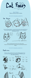 Cat Faces [Tutorial] by TigerMoonCat