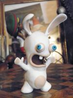 fimo raving rabbid view 2 by ooohPaco