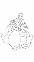 Ice type Lilligant by CrissyG