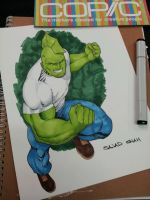 savage dragon sketch by Sajad126