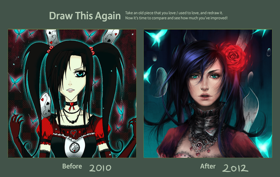 Draw This Again 2010-2012 by Chemical-Exorcist