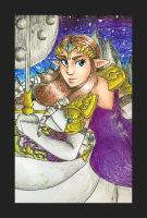 Twilight Princess Zelda by DynamicFlamez