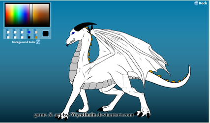 Zachary's Life as a Dragon new form with his wings by Crimson-Dragon-King