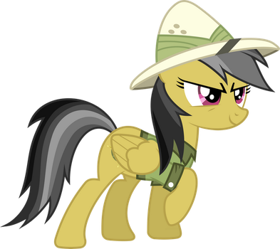 Daring Do Vector by piranhaplant1