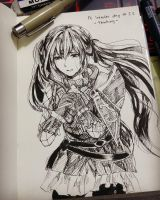 Fire Emblem Inktober day 11 : Thinking by chalollita