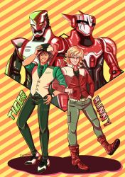 TIGER AND BUNNY by Carmeval