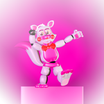 Adventure Funtime Foxy by 666TheFoxGamer666