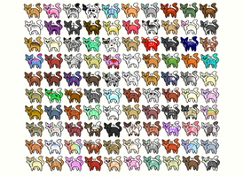 90/100 OPEN - Cat Adopts by Diamond19Sapphire15