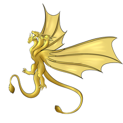 (REQUEST) King Ghidorah by BlizzardBrick