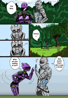Glitch:  Comic page 2 by kcimaginary