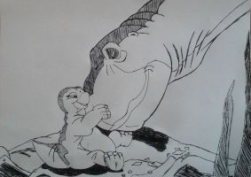 30 Minutes To Draw : Little Foot by vadkraam