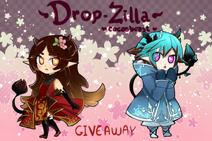 Drop-zilla Giveaway !! [ CLOSED ] by Myiabi