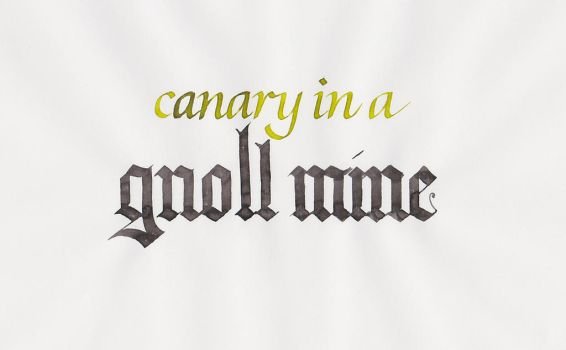 Critical Role - Canary in a Gnoll Mine by MShades
