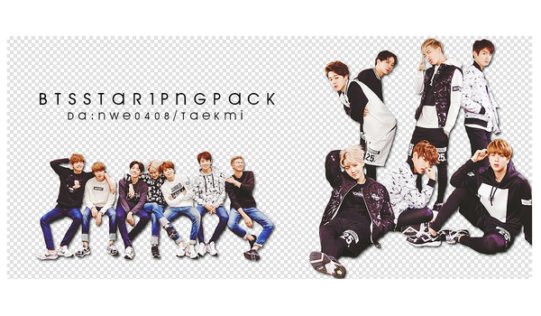 11 / BTS STAR1 PNG PACK by NWE0408