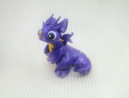 Purple Celestial Dragon by KriannaCrafts