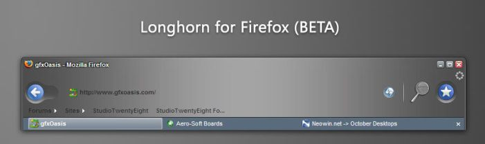 Longhorn for Firefox -BETA- by javierocasio