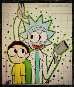 .Rick and Morty. by vocaloid121