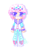 [adopt extra] - ObsceneBarbie [pastel boy 1/2] by hello-planet-chan