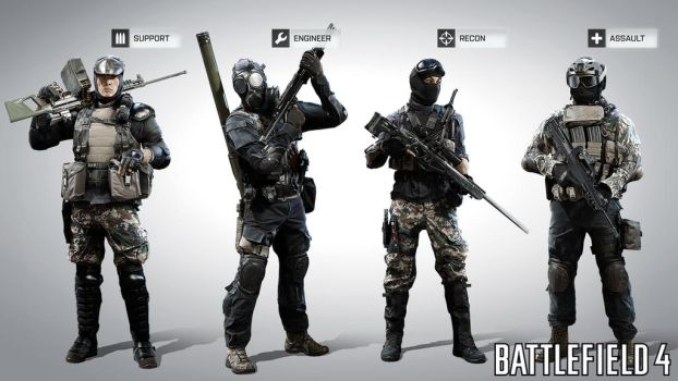 China Classes BF4 by farcrykiller225