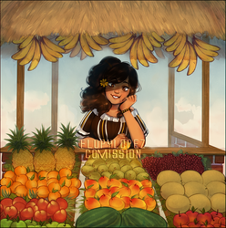 Comm: Maricela's little fruit stand by FlopyLopez