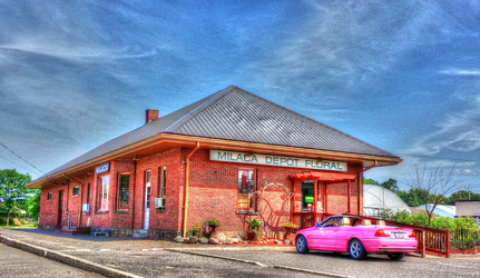 Old Milac train Depot. by simpspin