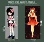 Draw This Again! Meme by Minzuchi