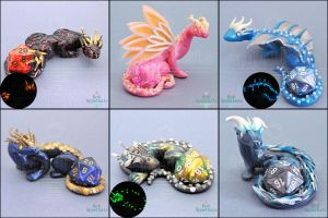 New Dice Holder Dragons by Bon-AppetEats