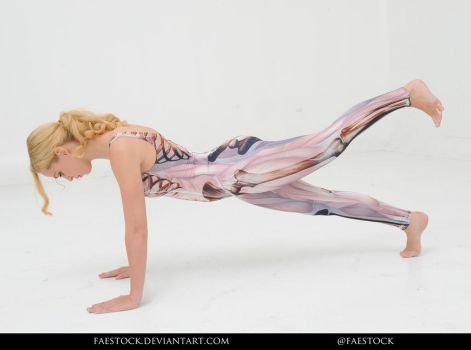 Anatomy - pose reference 26 by faestock