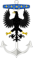 Seal Of The Takanuvian Navy Force by mastercharlesalbert