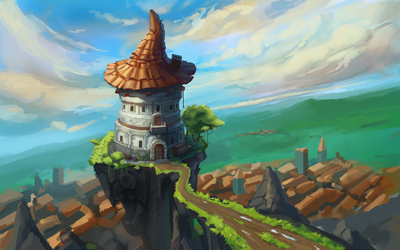 Mage tower by VIZg