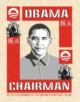 Obama the Chairman by RedTusker