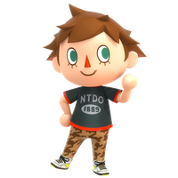 Villager New Leaf Render, Smash 4 Pose by Nibroc-Rock